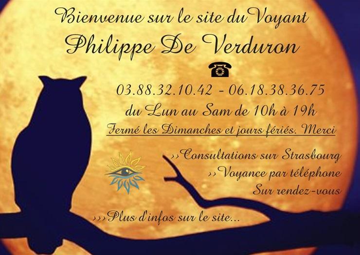 507e1e91b53605 PHILIPPE DE VERDURON   Médium Voyant, Astrologue à Strasbourg.